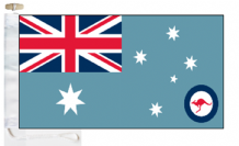 Australia Air Force RAAF Ensign Courtesy Boat Flags (Roped and Toggled)